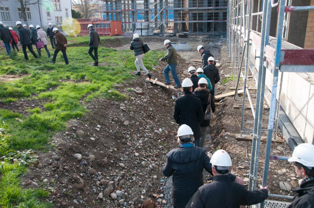 Baustelle Schulhaus Zehntenhof