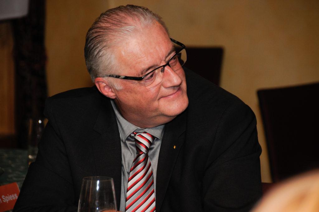 Roland Kuster, Kandidat für das Amt des Gemeindeammanns.