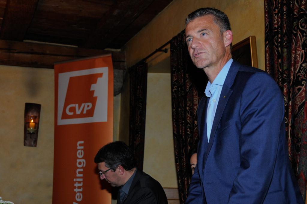Roland Michel, Ortsparteipräsident, eröffnet die GV.