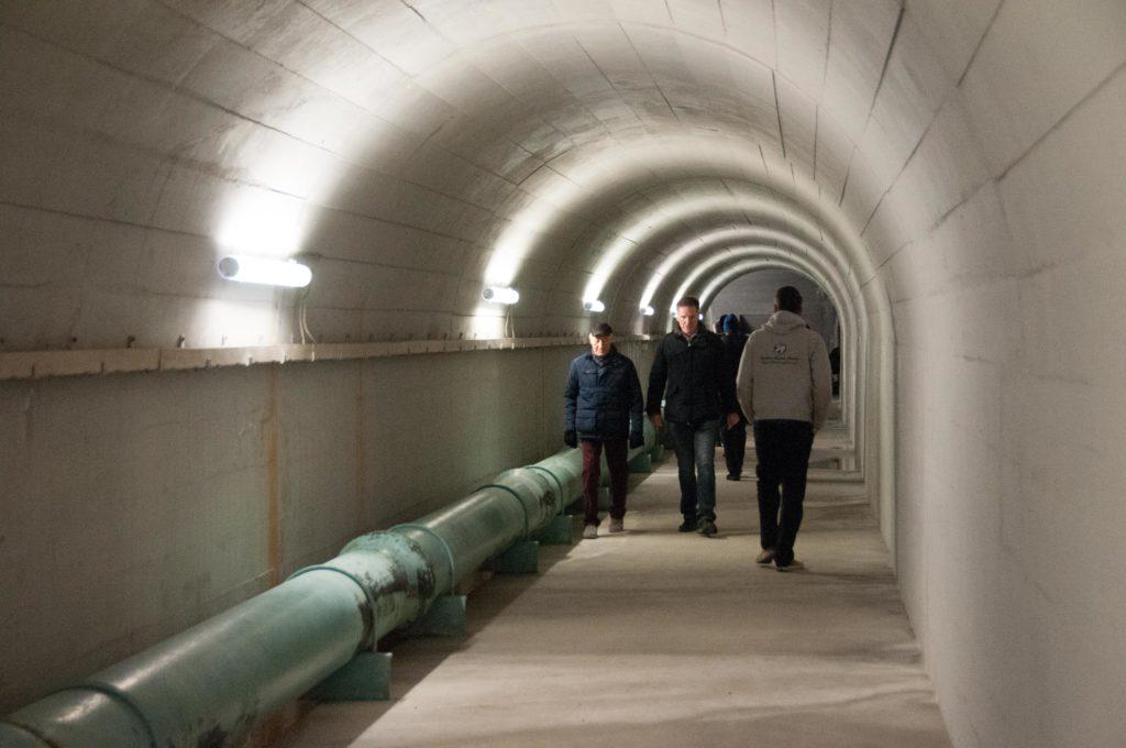 Zugangsstollen zum Reservoir Scharten 3.